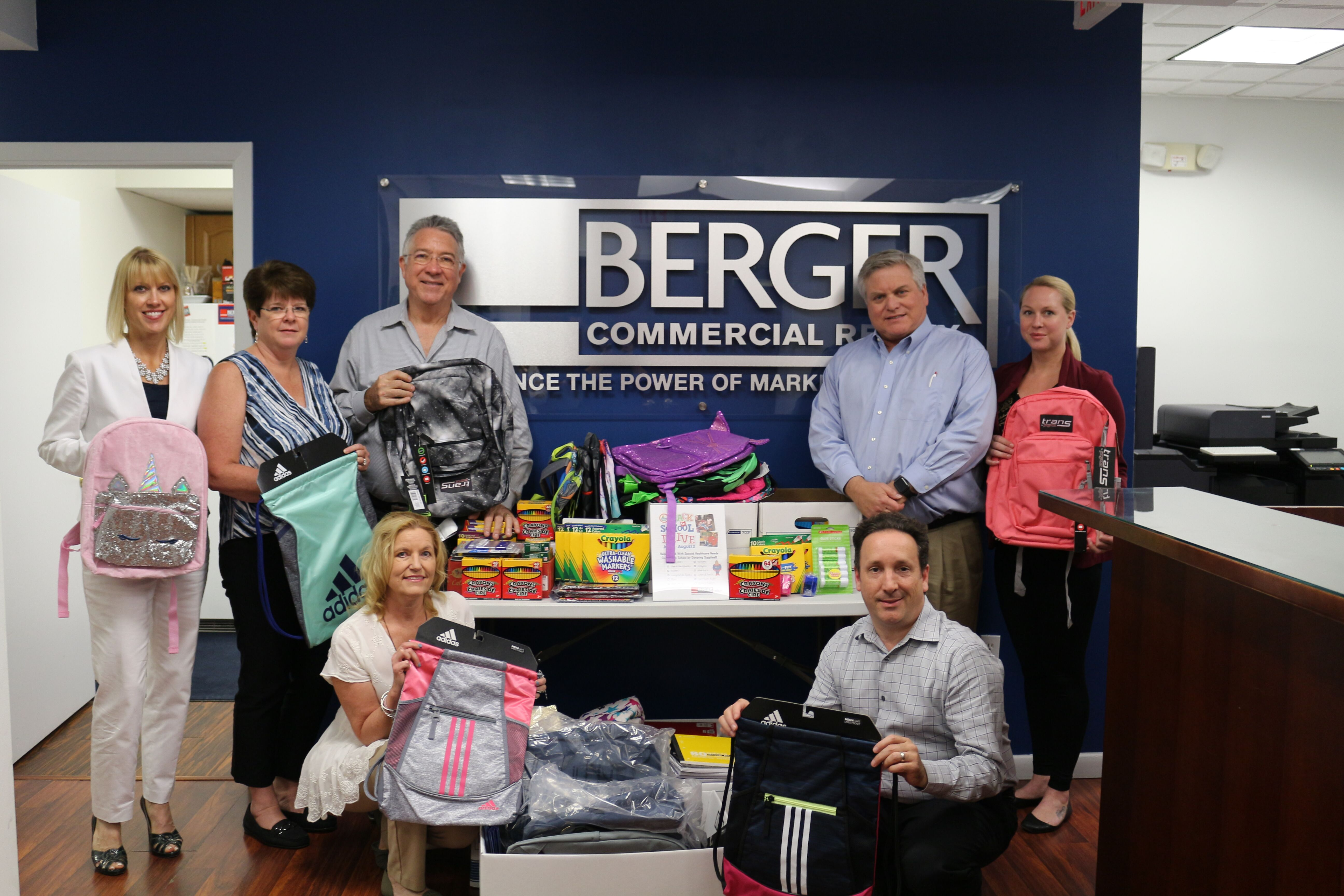 Back to School drive for pediatric patients of Children's Diagnostic & Treatment Center